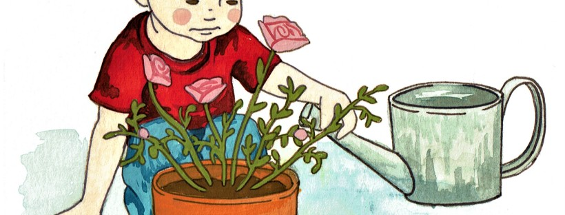 Timmy Gardens, illustration by Courtney Coriell Williams