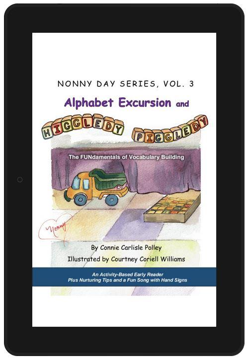 Alphabet Excursion Kindle edition - title page