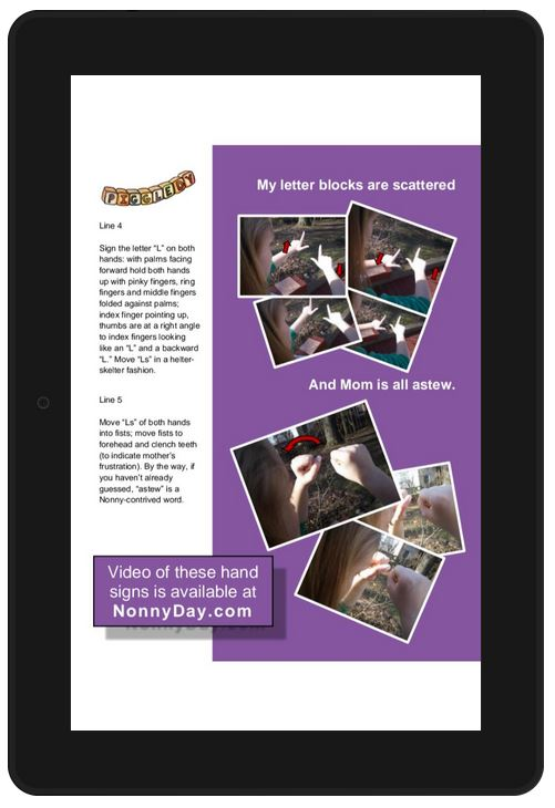 Alphabet Excursion Kindle edition - one of the activity pages