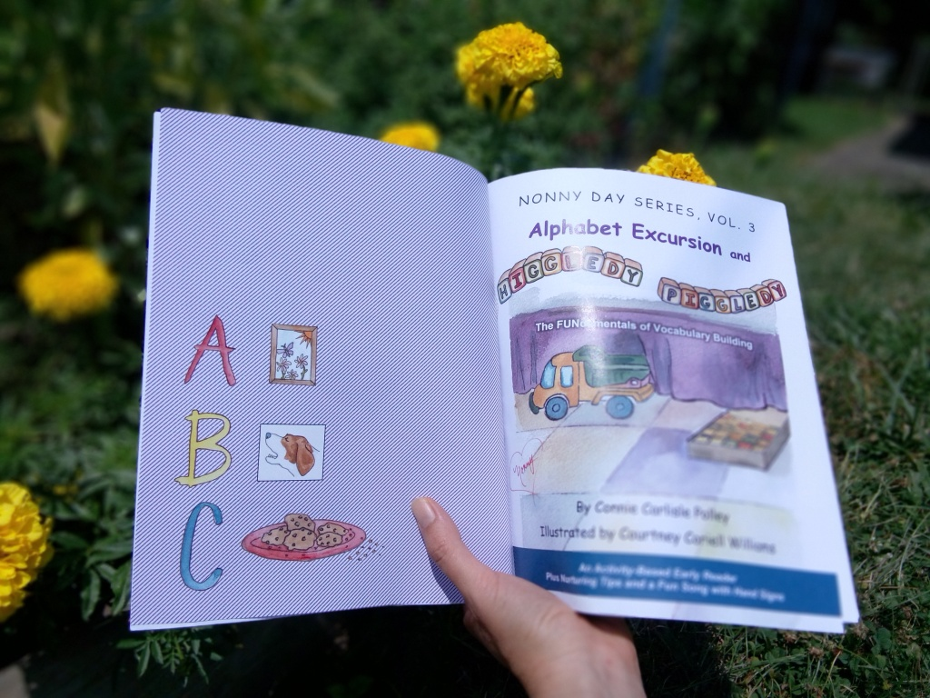 Alphabet Excursion and Higgledy-Piggledy, by Connie Carlisle Polley, illustrated by Courtney Coriell Williams